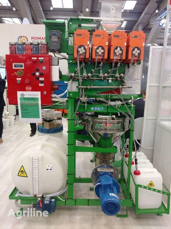 appareil de traitement de semences LVIVAGROMASHPROEKT Protruyuvach kamerniy stacionarniy PKS-20 PT + rozdilna podacha neuf