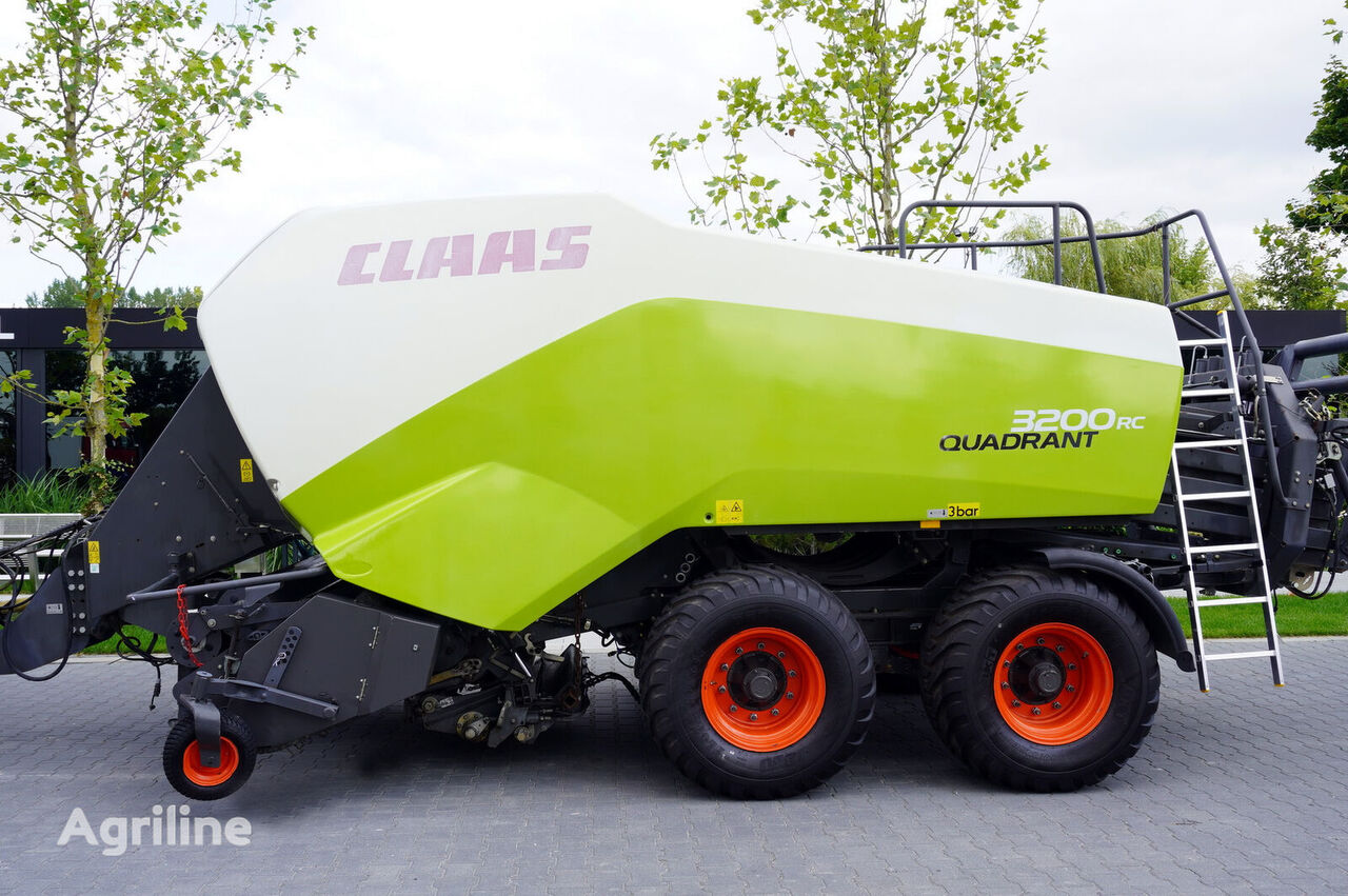 machine d'emballage CLAAS  CLAAS 744D Quadrant 3200 RC, large-size, square, bales 1.2 x 0