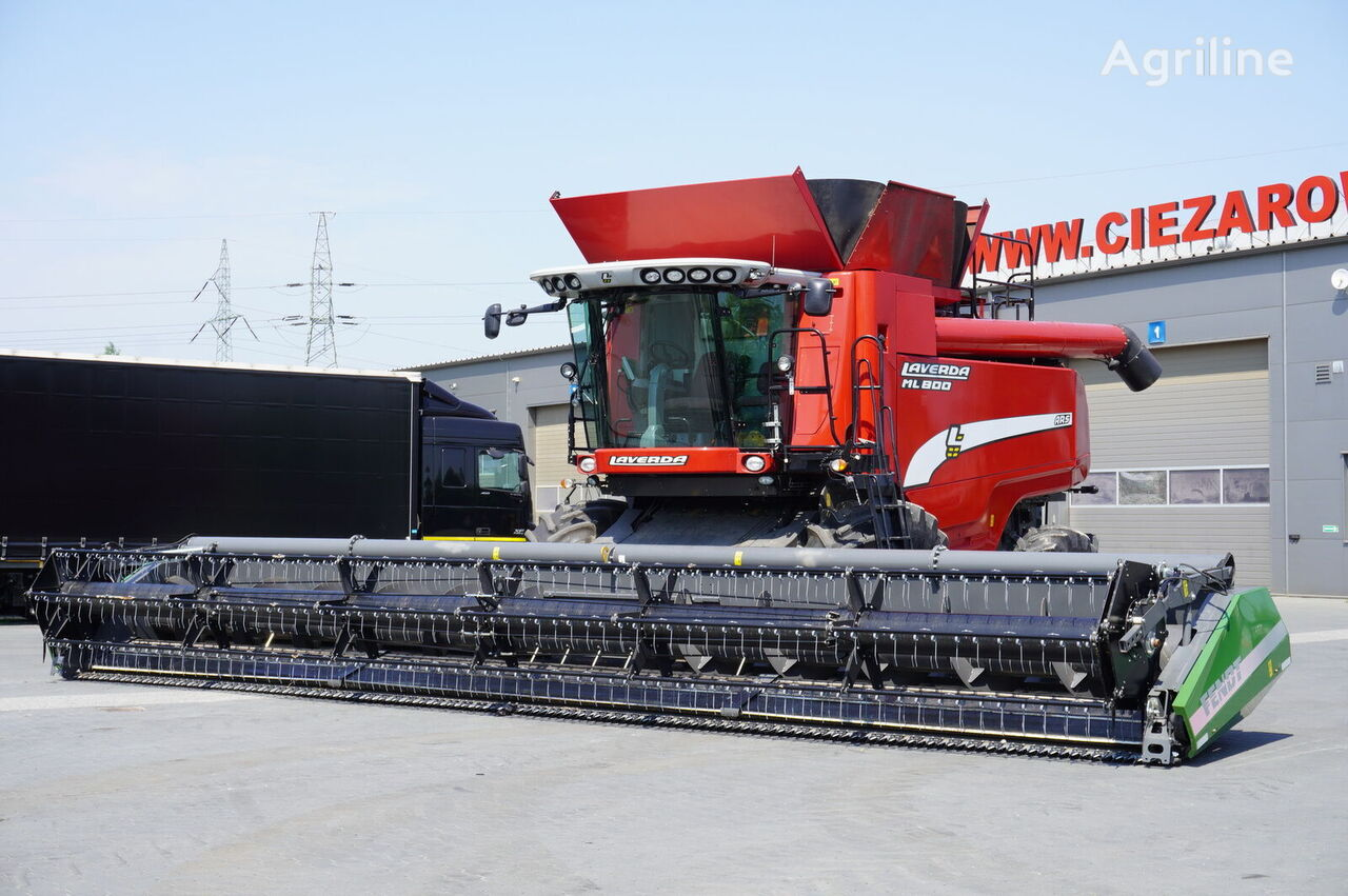 moissonneuse-batteuse LAVERDA ML800 ARS , 1400 MTH  , NEW HEADER 10,7m , rotor , tank