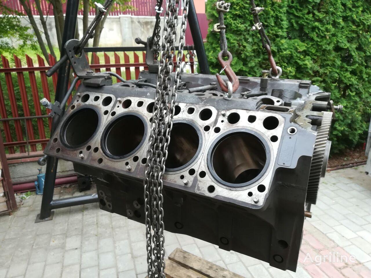 bloc-moteur MERCEDES-BENZ OM 502 LA pour moissonneuse-batteuse CLAAS