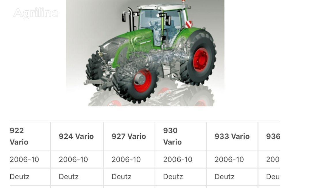différentiel pour tracteur FENDT 927