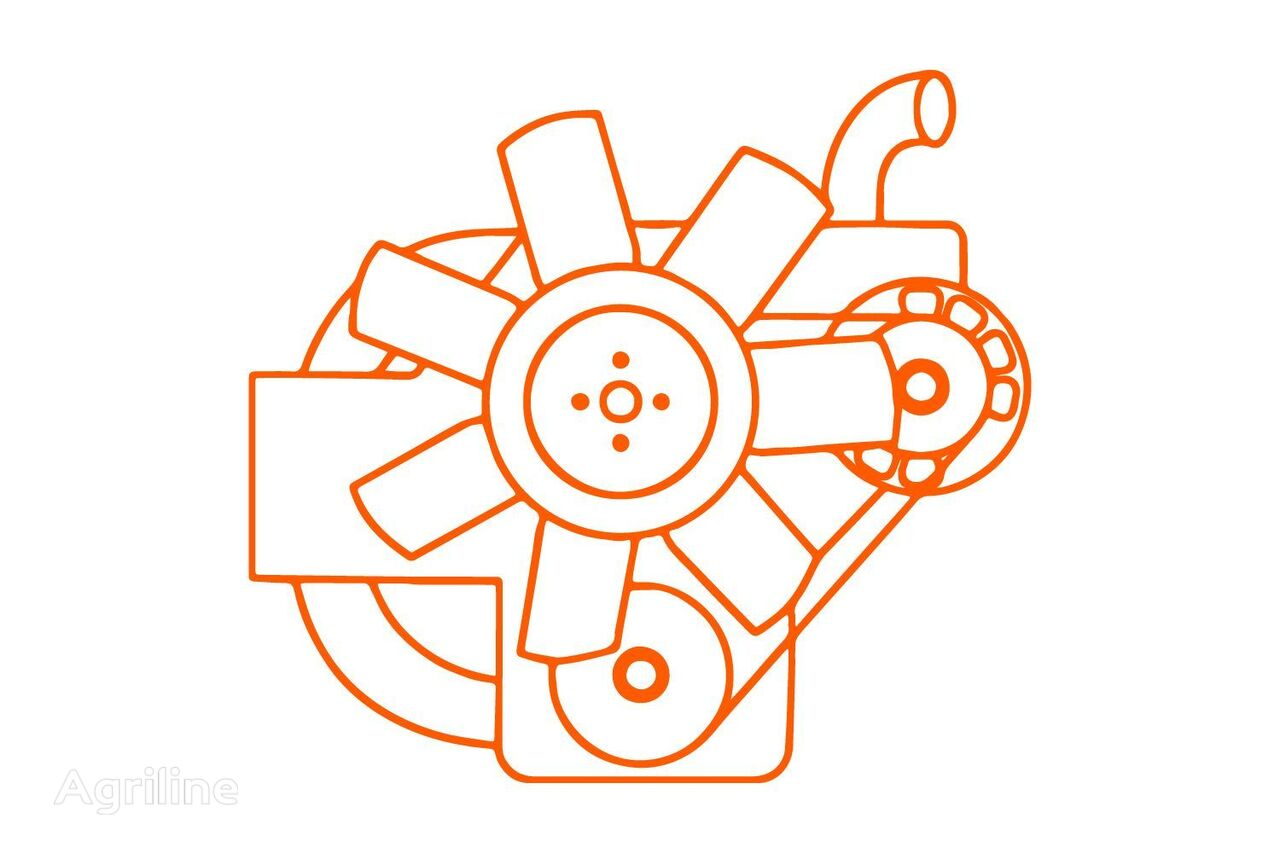 moteur KUBOTA Z600 dieselmotor pour tracteur KUBOTA