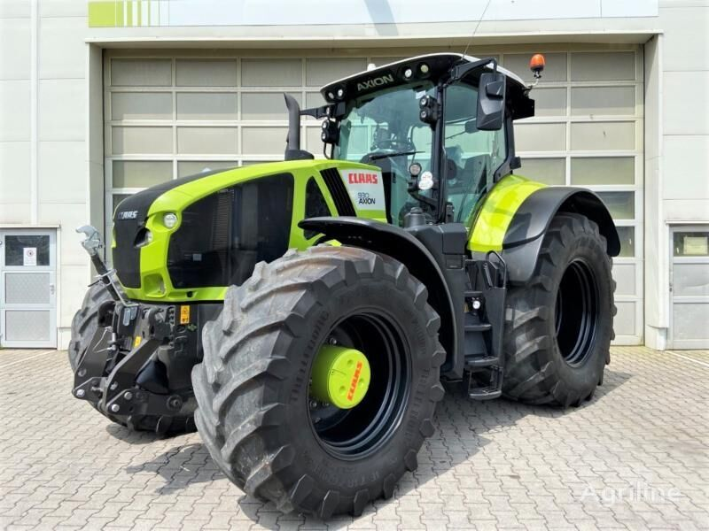 tracteur à roues CLAAS AXION 930 CMATIC