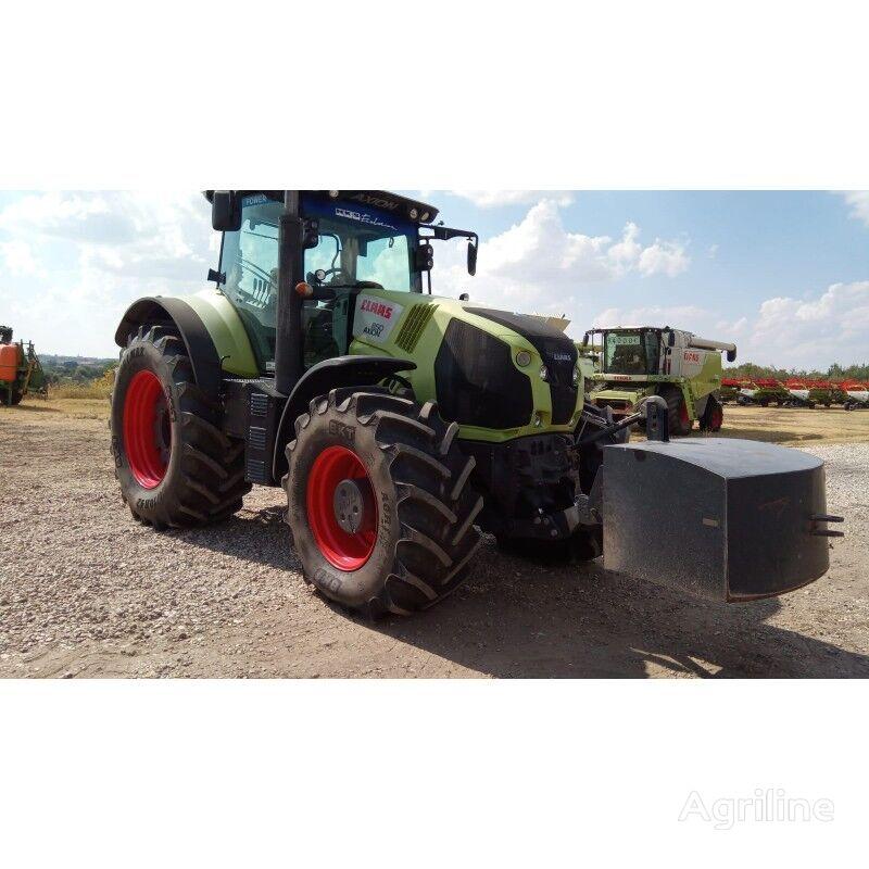 tracteur à roues CLAAS Axion 850