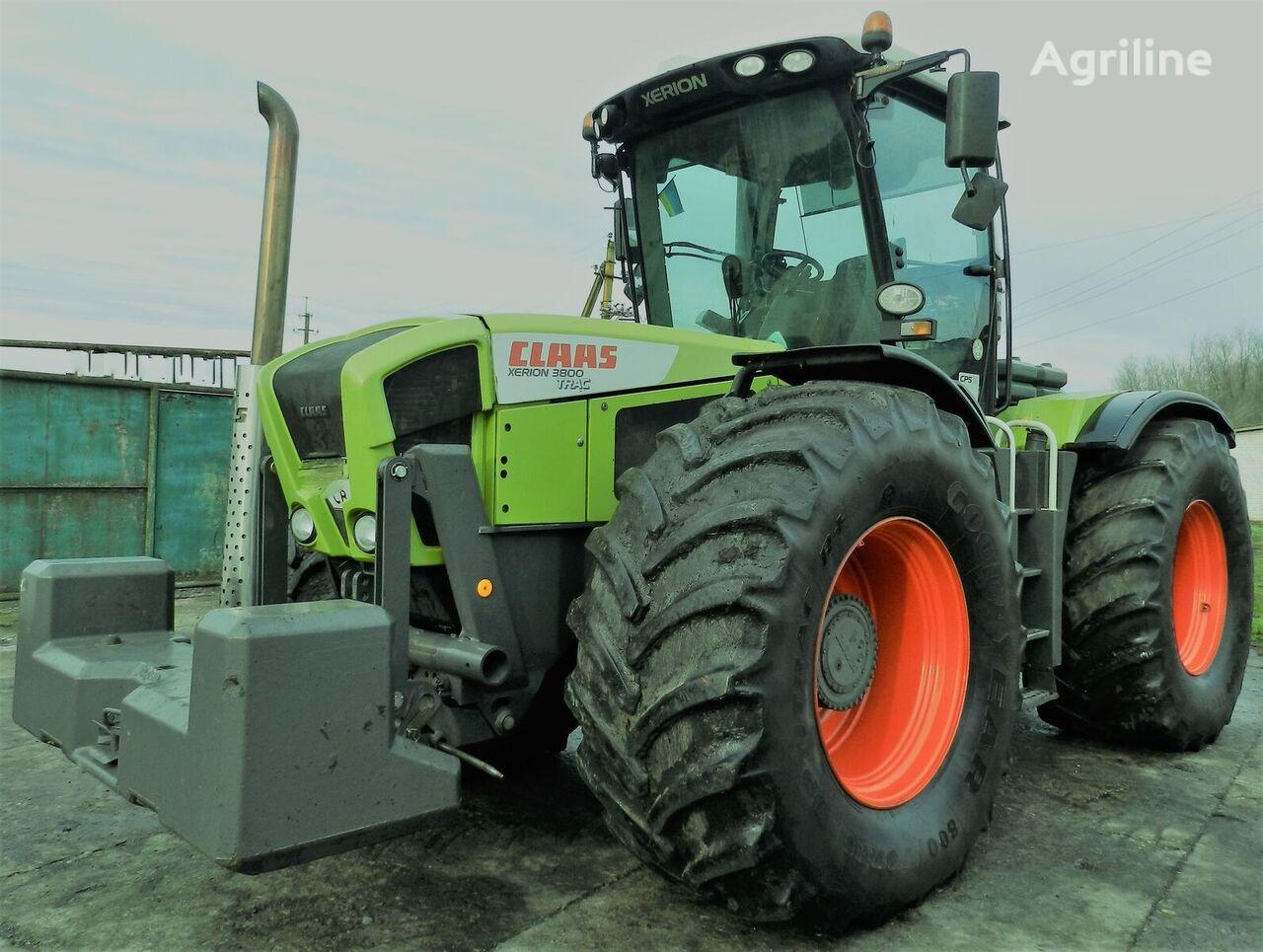 tracteur à roues CLAAS Xerion 3800