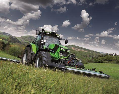 tracteur à roues DEUTZ-FAHR 6165 165 LE neuf