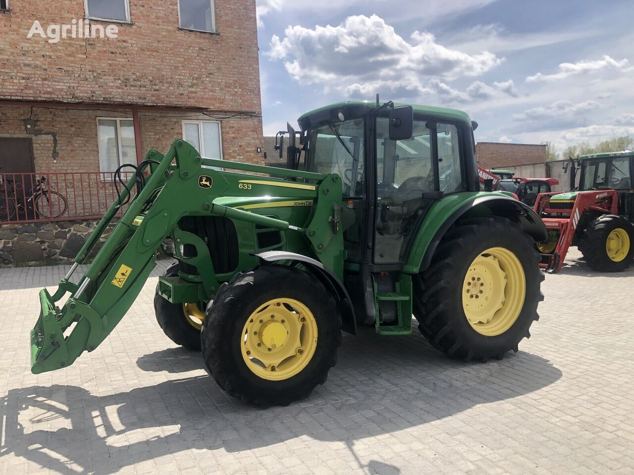 tracteur à roues JOHN DEERE 6230