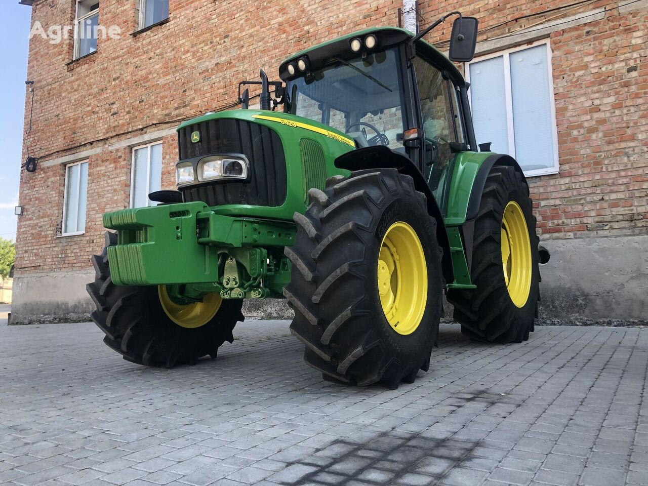 tracteur à roues JOHN DEERE 6420