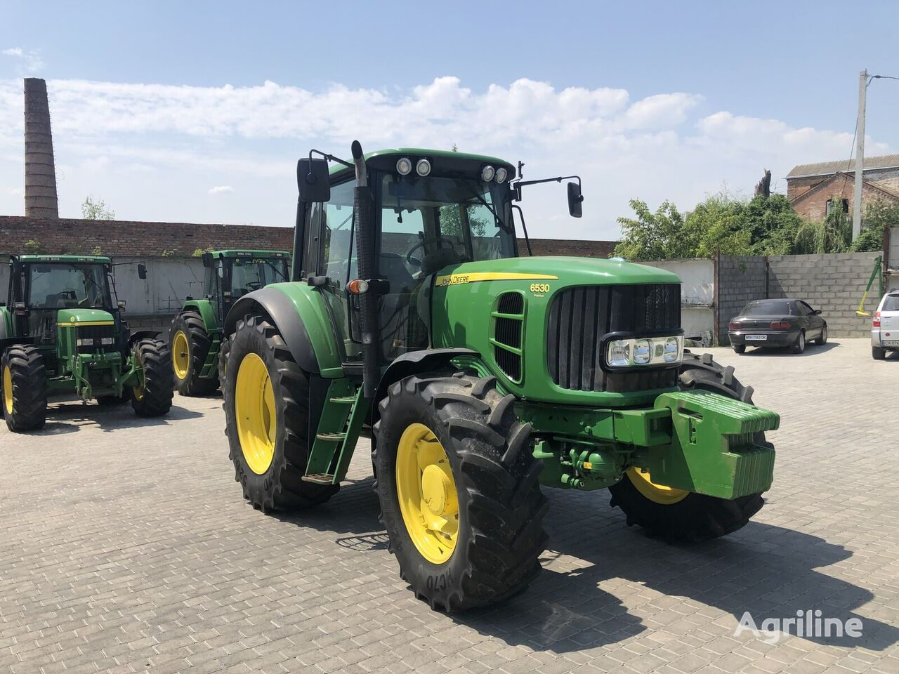 tracteur à roues JOHN DEERE 6530