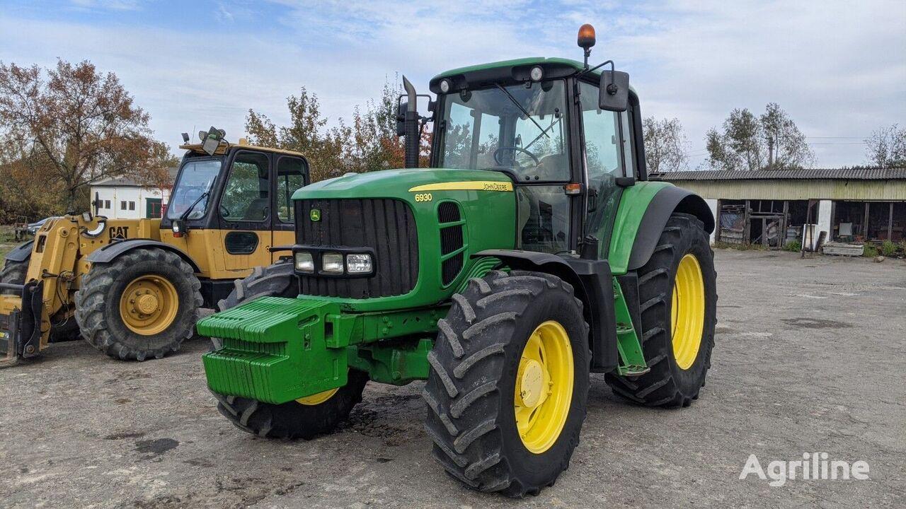 tracteur à roues JOHN DEERE 6930