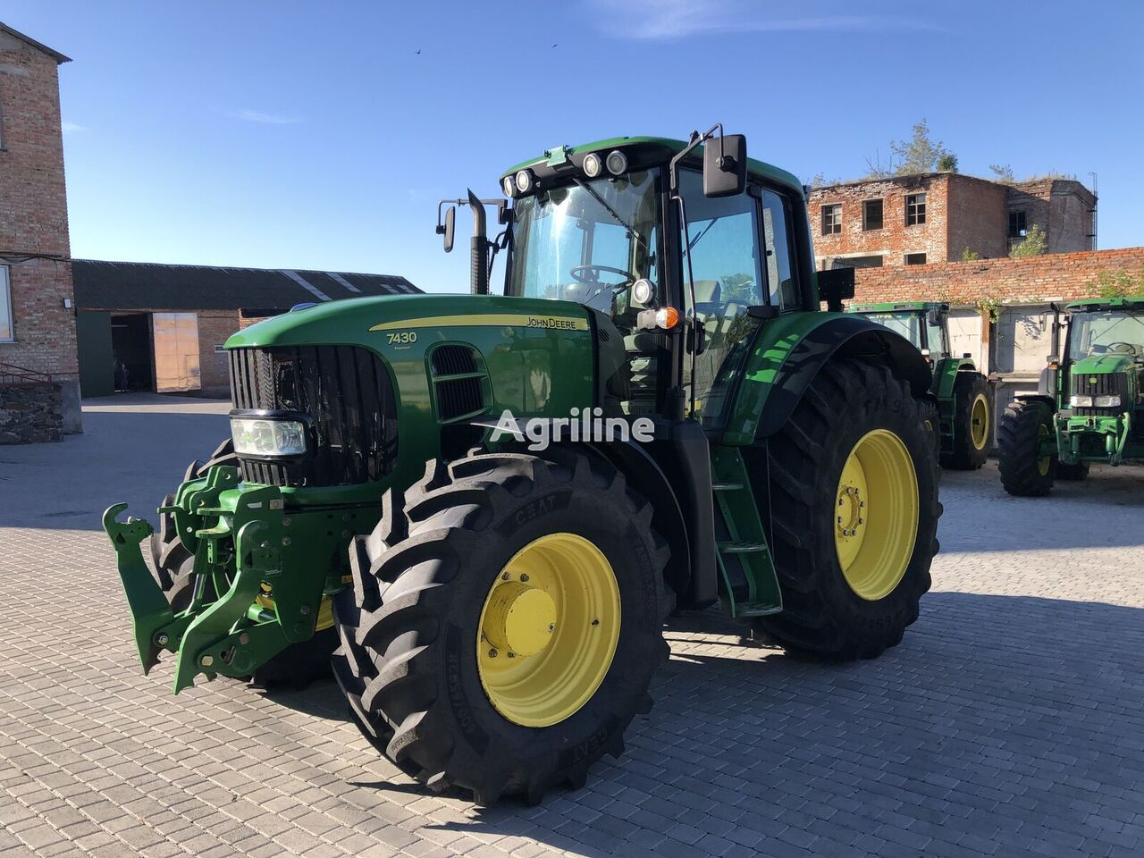 tracteur à roues JOHN DEERE 7430 Premium