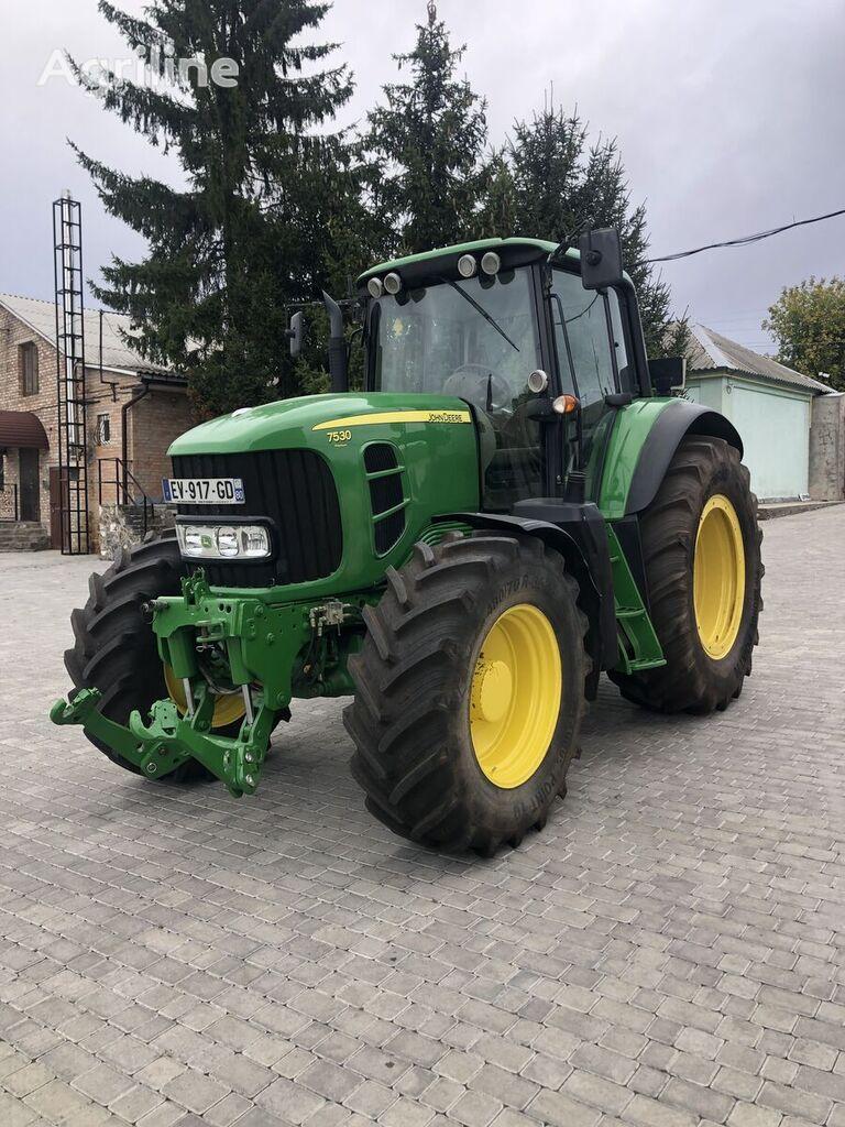 tracteur à roues JOHN DEERE 7530 Premium
