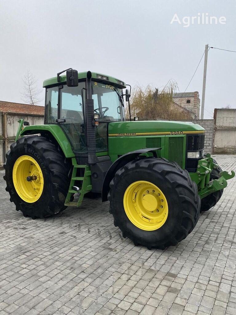 tracteur à roues JOHN DEERE 7700 Power Shift