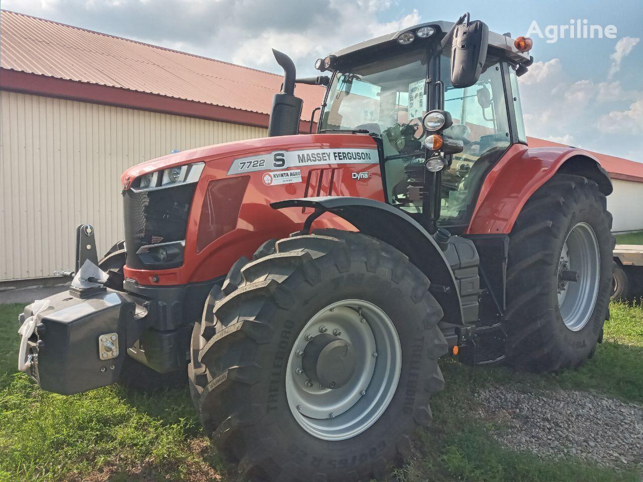 tracteur à roues MASSEY FERGUSON 7722S neuf