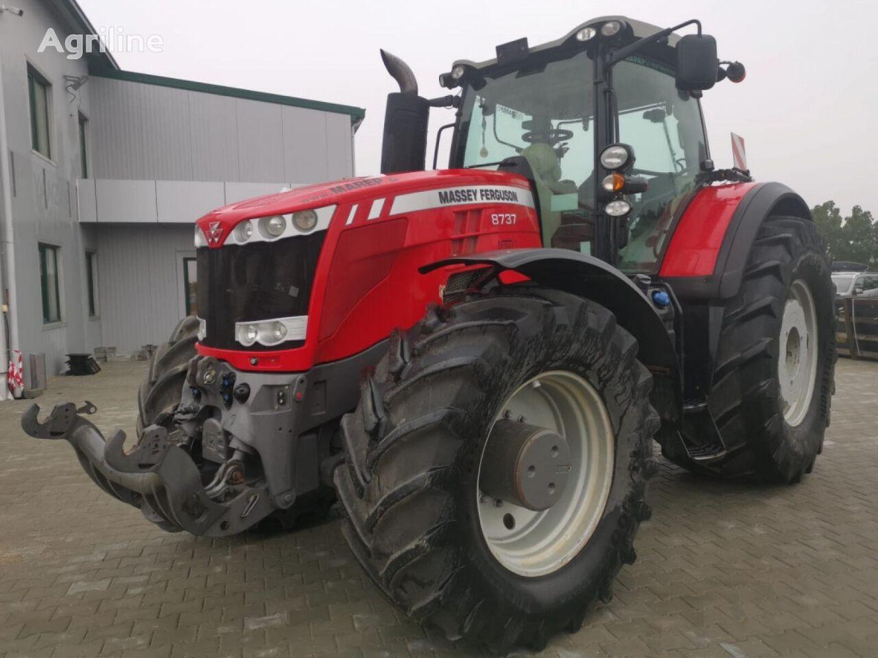 tracteur à roues MASSEY FERGUSON 8737 DynaVT