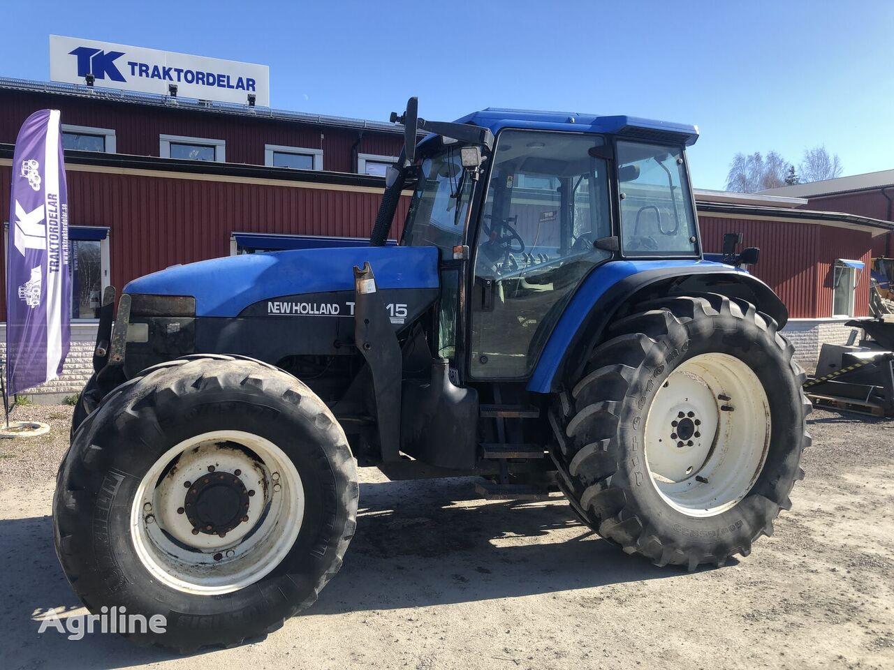 tracteur à roues NEW HOLLAND TM115 Dismantled: only parts pour pièces détachées